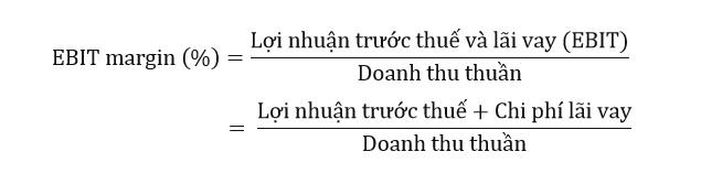 cong thuc tinh ebit margin